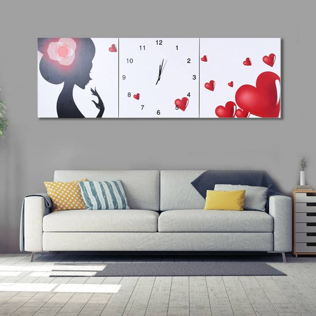 러블리 병풍 벽시계(120cm)